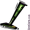 Vector Clipart graphic  of a Razors
