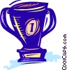 Trophies, Awards Winning Prize Vector Clipart image