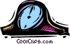 Mantle Clocks Vector Clip Art picture