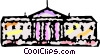 Vector Clipart graphic  of a The White House