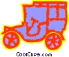 Antique or Vintage Automobiles Vector Clipart illustration