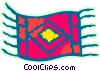 Vector Clipart illustration  of a Carpets and Rugs