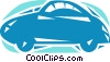 Vector Clipart illustration  of a Family Cars