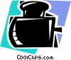 Ink Bottles Vector Clipart picture