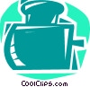 Ink Bottles Vector Clipart illustration