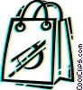 Vector Clipart image  of a Shopping Bags