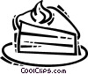 Vector Clipart image  of a Cakes and Pastries