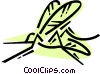 Vector Clipart graphic  of a Mosquitos