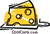 Cheeses Vector Clipart picture