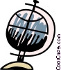 Globes Vector Clip Art image