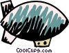 Airships or Dirigibles Vector Clipart image