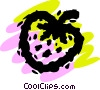 Vector Clipart illustration  of a Strawberries