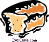 Vector Clip Art graphic  of a Bread