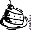 Vector Clip Art image  of a Cakes and Pastries