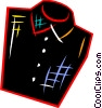 Vector Clip Art graphic  of a Shirts
