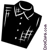 Vector Clip Art picture  of a Shirts