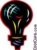 Vector Clipart image  of a Light bulbs