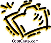 Vector Clip Art picture  of a File Folders