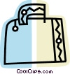 Vector Clipart graphic  of a Luggage