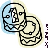 Vector Clip Art picture  of a Coins