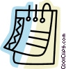 Notepad Vector Clipart picture
