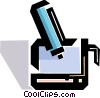 Vector Clipart graphic  of a Graphics Tablets
