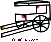 Carriages Vector Clip Art image