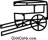 Carriages Vector Clipart graphic