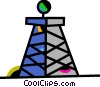 Vector Clipart picture  of a Oil Wells