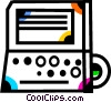 Vector Clipart picture  of a Laptops and Notebook Computers