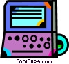 Vector Clipart illustration  of a Laptops and Notebook Computers