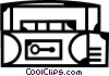 Cassette Tapes Vector Clipart graphic