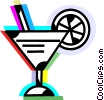 Cocktails and Mixed Drinks Vector Clip Art graphic