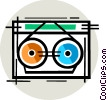 Backup Systems and Supplies Vector Clip Art picture
