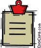 Clipboards Vector Clip Art picture