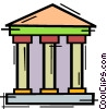 Vector Clipart graphic  of a Banks
