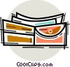 Wallets Vector Clipart illustration
