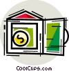 Vaults and Safes Vector Clipart image