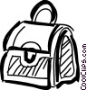 Vector Clip Art image  of a Handbags Purses