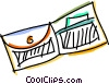 Vector Clipart illustration  of a Wallets