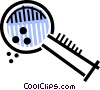 Magnifying Glasses Vector Clipart graphic