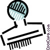 Vector Clip Art image  of a Rubber Stamps