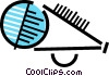 Vector Clipart illustration  of a Megaphones