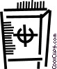Vector Clip Art picture  of a Vaults and Safes