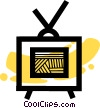 Televisions Vector Clip Art graphic