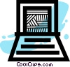 Laptops and Notebook Computers Vector Clip Art graphic