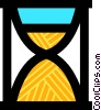 Vector Clipart illustration  of a Hourglasses
