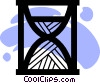 Vector Clip Art picture  of a Hourglasses