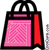 Vector Clip Art picture  of a Shopping Bags
