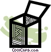 Crates, Boxes, Shipments Vector Clip Art picture